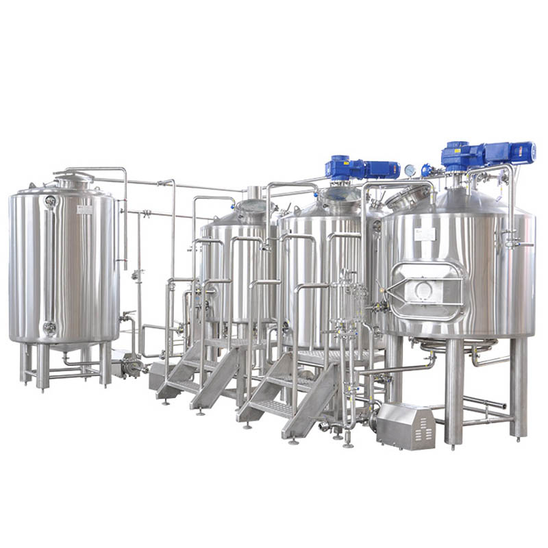 Three Vessels Brewhouse System